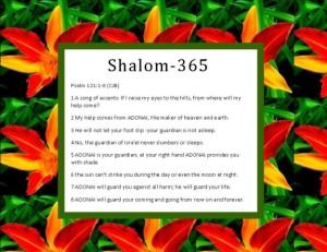 Shalom -PS121